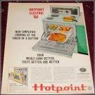 1960 Hotpoint Electric Range ad
