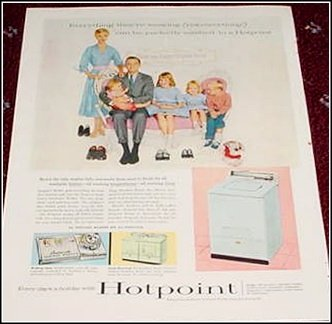 1956 Hotpoint Washer ad