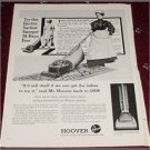 1961 Hoover Vacum Cleaner ad