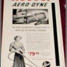 1950 Hoover Aero-Dyne ad