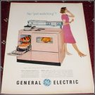 1960 GE Model J 408 Electric Range ad