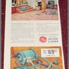 1956 GE Roll Easy Vacum Cleaner ad