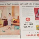 1955 GE Roll Easy Vacum Cleaner ad
