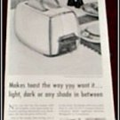 1955 GE Toaster ad