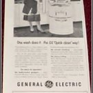 1952 GE Washer ad