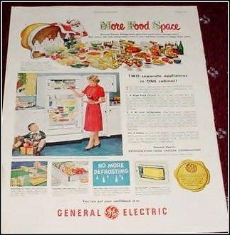 1951 GE Refrigerator ad #1
