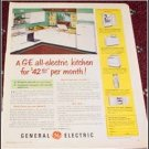 1950 GE Electric Kitchen ad
