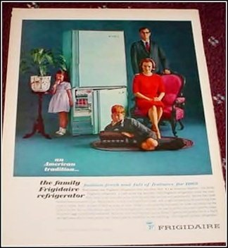1963 Frigidaire Refrigerator ad