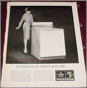 1962 Frigidaire Washer ad