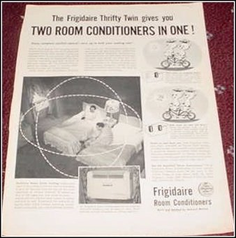 1954 Frigidaire Air Conditioner ad