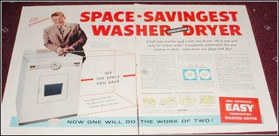 1956 Easy Washer Dryer ad with Arthur Godfrey