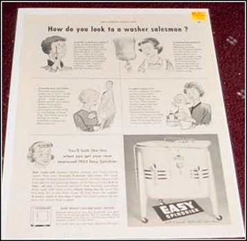 1953 Easy Spindrier ad