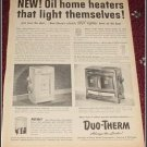 Duo Therm Heater ad