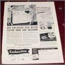 1950 Coolerator Electric Range ad