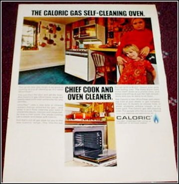 Caloric Gas Range ad