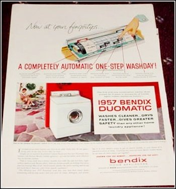 1957 Bendix Washer Dryer ad #2