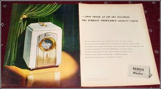 1950 Bendix Washer ad