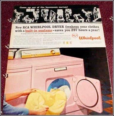 1957 Whirlpool Dryer ad