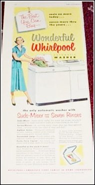 1955 Whirlpool Washer ad