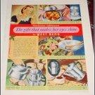 1940 West Bend Tableware ad
