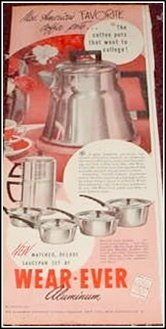 1951 Wearever Coffeemaker ad
