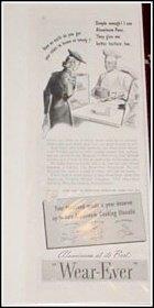 1940 Wearever Cookware ad