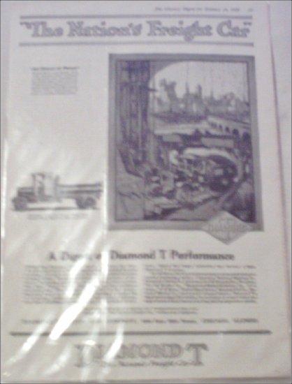 1920 Diamond T Dump Truck ad