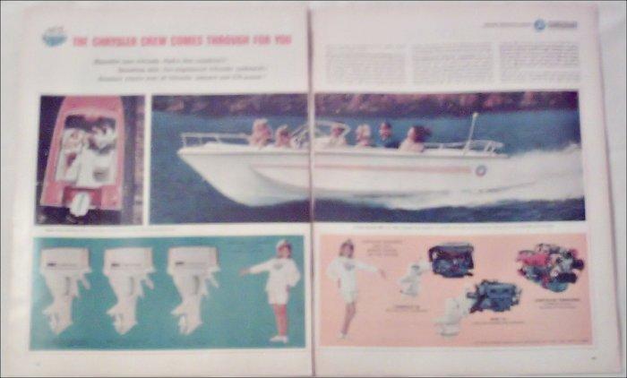 1967 Chrysler Boat ad