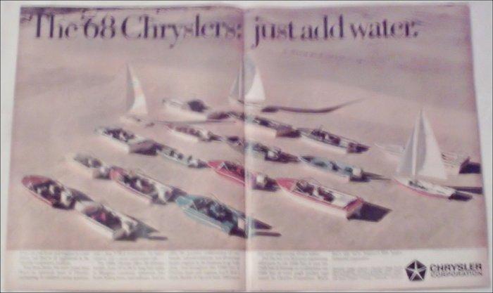1968 Chrysler Boat ad #1