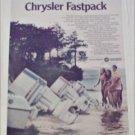 1970 Chrysler Boat ad