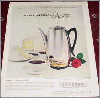 Universal Coffeematic ad