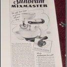 1940 Sunbeam Mixmaster ad