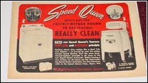 Speed Queen Washers ad