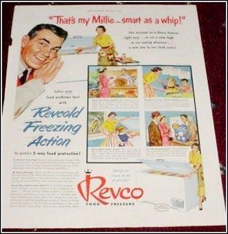1955 Revco Freezer ad
