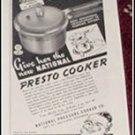 1940 Presto Cooker ad