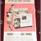 Norge Gas Range ad