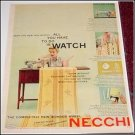 1954 Necchi Sewing Machine ad