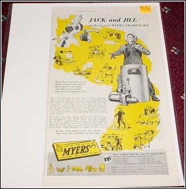 1946 Meyers Water Pump ad