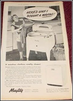 1950 Maytag Washer ad
