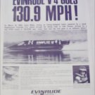 1966 Evinrude World Speed Record Boat ad