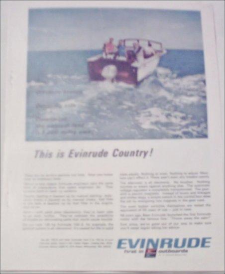 1967 Evinrude 100-S Motor ad