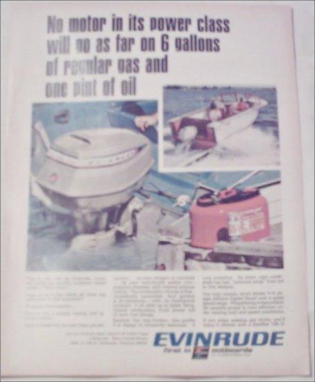 1967 Evinrude Starflite 100-S Motor ad