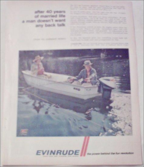 1968 Evinrude Sportwin Motor ad