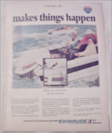 1970 Evinrude 85 Motor ad