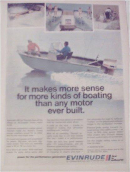 1971 Evinrude Triumph Motor ad