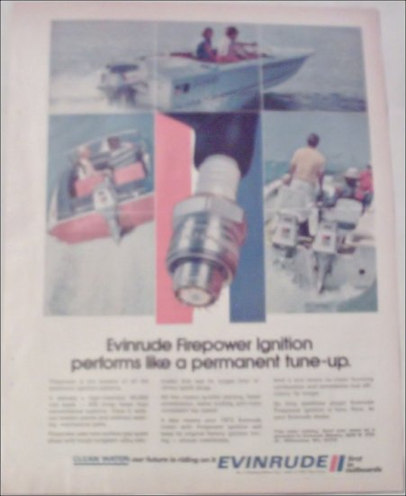 1972 Evinrude Firepower Ignition ad