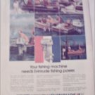 1972 Evinrude Bass Boat Motor ad