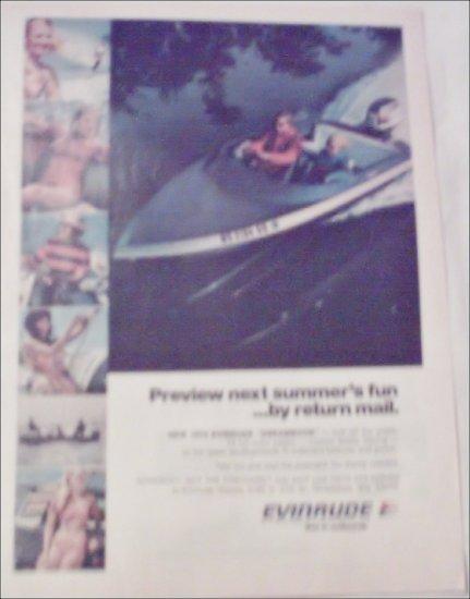 1973 Evinrude Boat & Motor ad