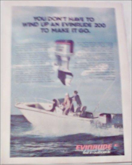 Evinrude 200 Motor ad
