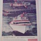 1958 Fiberglas Boat ad
